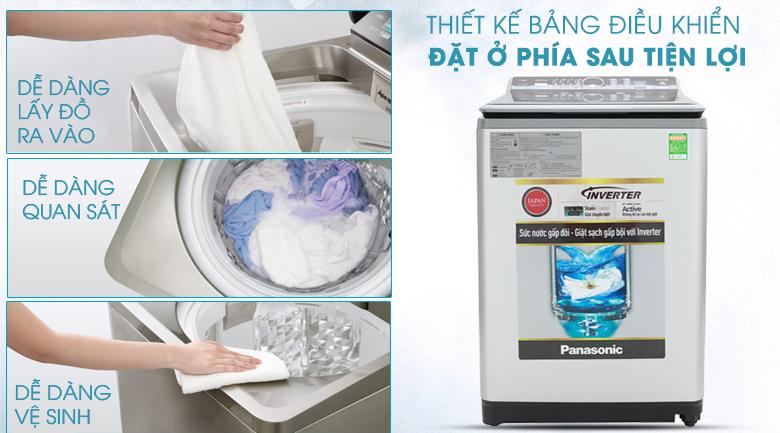 Máy giặt Panasonic Inverter 12.5 Kg NA-FS12X7LRV