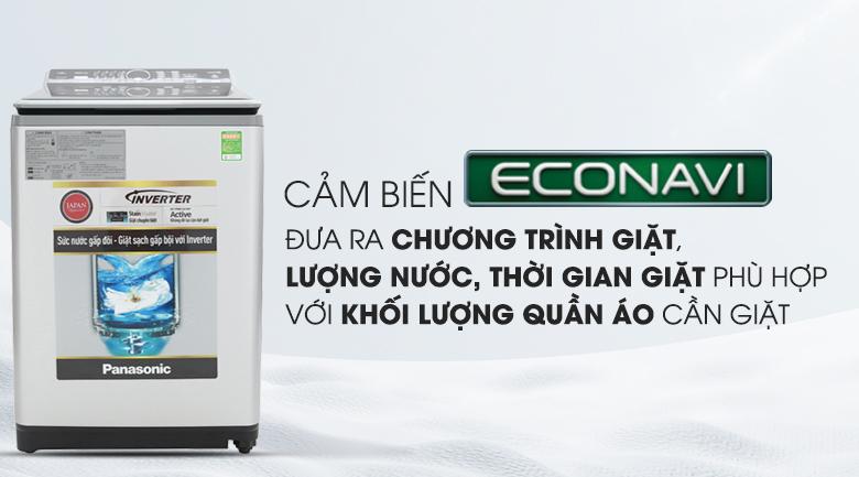 Cảm biến Econavi - Máy giặt Panasonic Inverter 12.5 Kg NA-FS12X7LRV