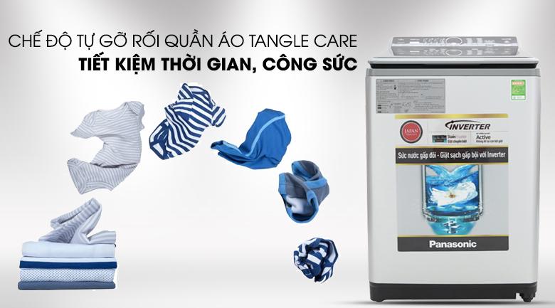 Chế độ tự gỡ rối Tangle Care - Máy giặt Panasonic Inverter 12.5 Kg NA-FS12X7LRV