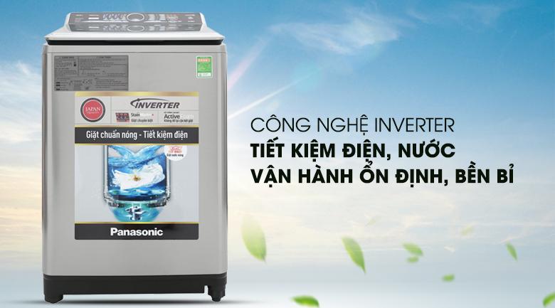 Công nghệ Inverter - Máy giặt Panasonic Inverter 13.5 Kg NA-FS13V7SRV