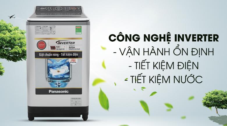 Công nghệ Inverter - Máy giặt Panasonic Inverter 14 Kg NA-FS14V7SRV