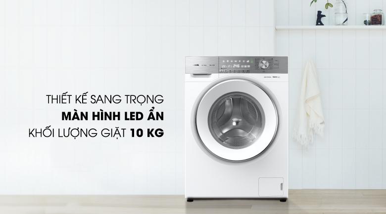 Máy giặt Panasonic Inverter 10 Kg NA-120VG6WV2