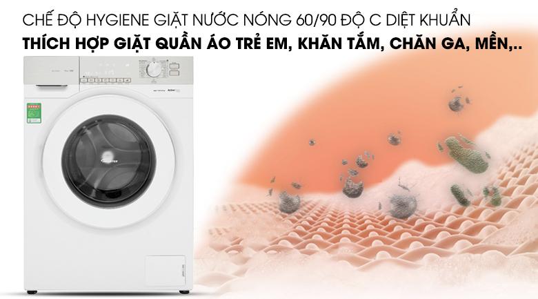 Chế độ hygiene giặt nước nóng - Máy giặt Panasonic Inverter 10 Kg NA-120VG6WV2