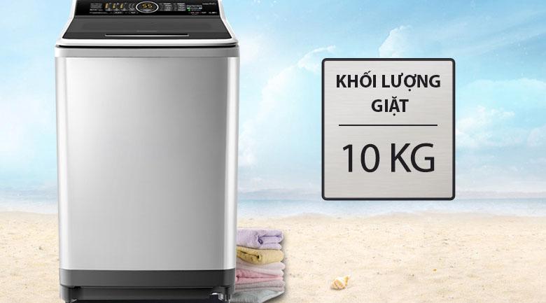 Khối lượng giặt 10 kg - Máy giặt Panasonic Inverter 10 Kg NA-FS10X7SRV