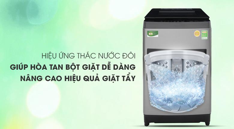 Hiệu ứng thác nước đôi - Máy giặt Toshiba 9.5 Kg AW-UH1050GV DS