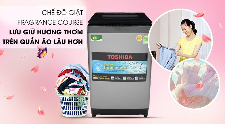 Lưu giữ hương thơm Fragrance Course - Máy giặt Toshiba 9.5 Kg AW-UH1050GV DS