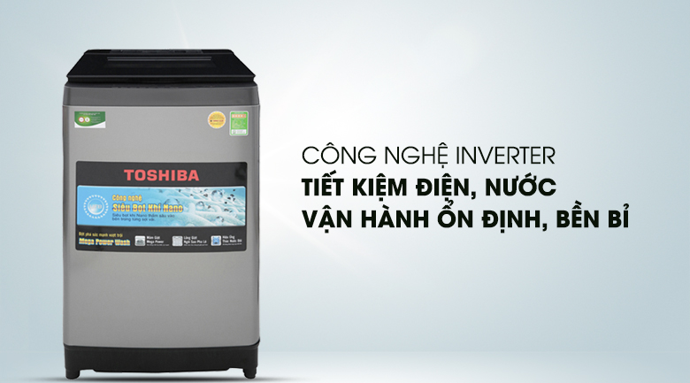 Công nghệ Inverter - Máy giặt Toshiba Inverter 10.5 Kg AW-UH1150GV DS