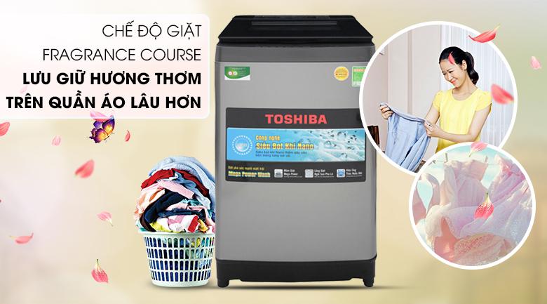 Chế độ giặt Fragrance Course - Máy giặt Toshiba 10.5 Kg AW-UH1150GV DS