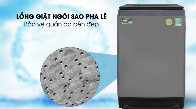 Lồng giặt ngôi sao pha lê - Máy giặt Toshiba Inverter 10.5 Kg AW-UH1150GV DS