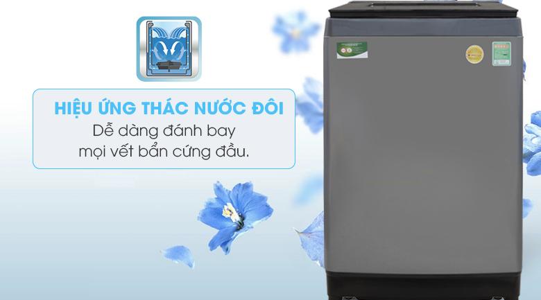 Hiệu ứng thác nước đôi - Máy giặt Toshiba Inverter 10.5 Kg AW-UH1150GV DS