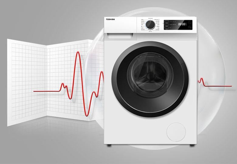 Tự khởi động lại - Máy giặt Toshiba Inverter 7.5 Kg TW-BH85S2V WK