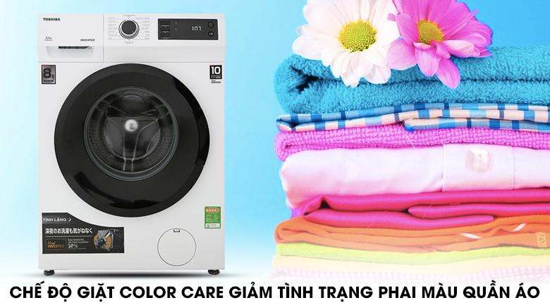 Color care - Máy giặt Toshiba Inverter 8.5 Kg TW-BH95S2V WK