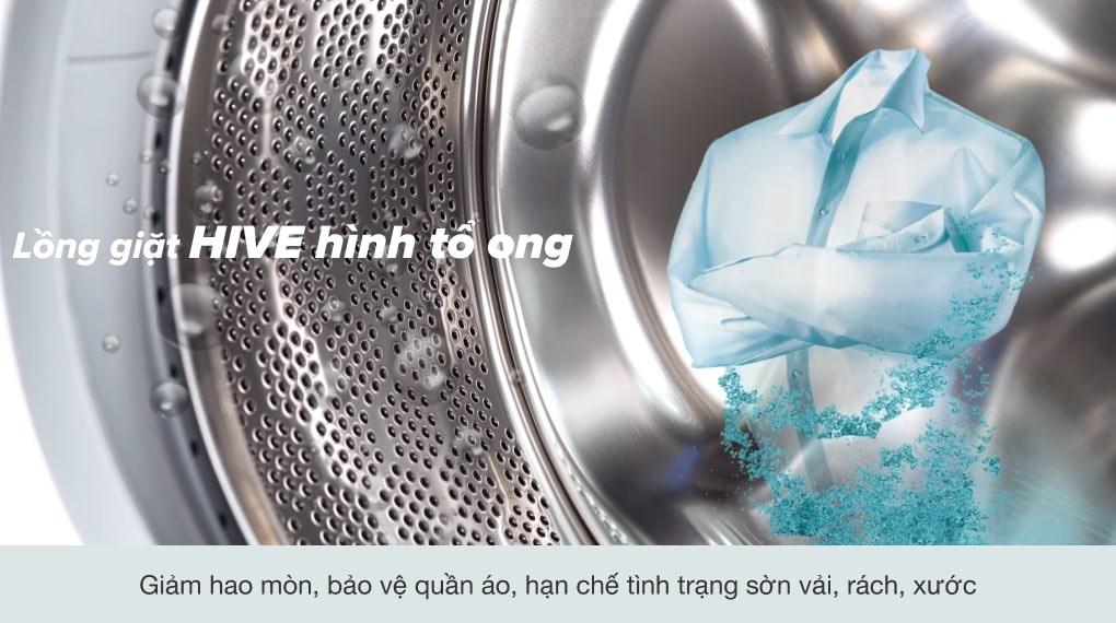 Lồng giặt HIVE - Máy giặt Electrolux Inverter 8 Kg EWF8025DGWA