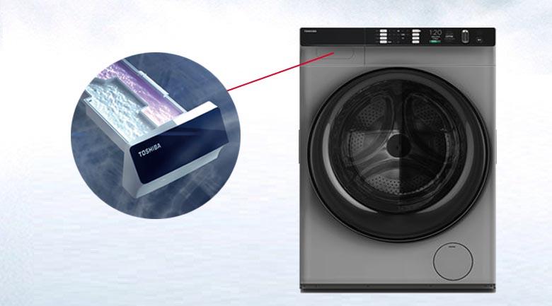 SenseDose - Máy giặt Toshiba Inverter 10.5 Kg TW-BH115W4V (SK)