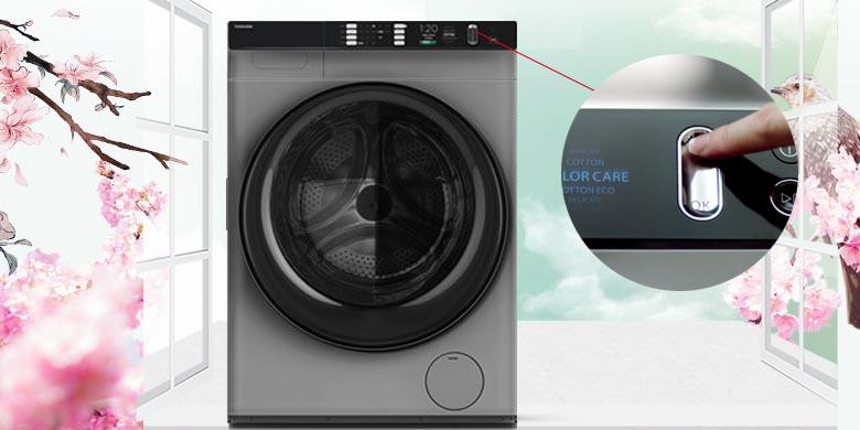 Máy giặt sấy Toshiba Inverter 10.5 Kg TWD-BH90W4V (SK)