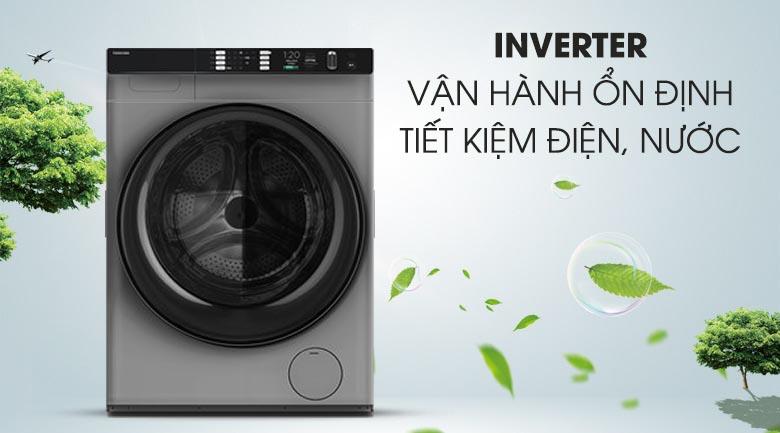 Công nghệ Inverter - Máy giặt sấy Toshiba Inverter 10.5 Kg TWD-BH90W4V (SK)