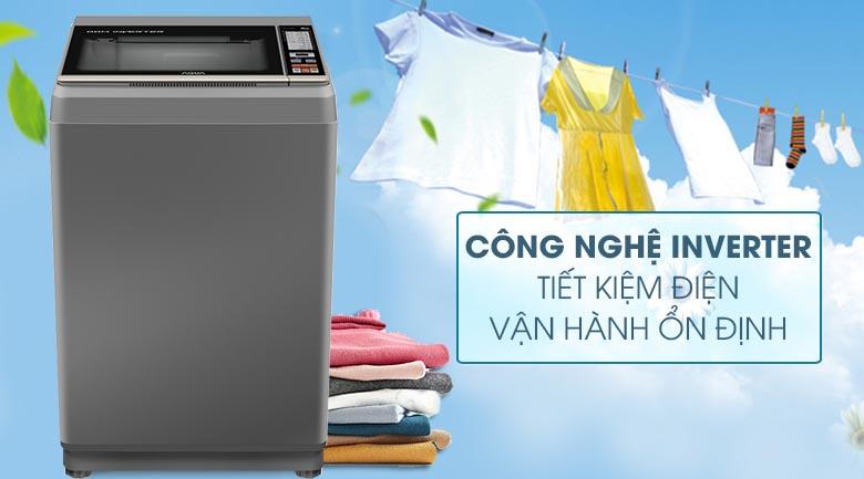 Công nghệ Inverter - Máy giặt Aqua Inverter 9 Kg AQW-DK90CT S