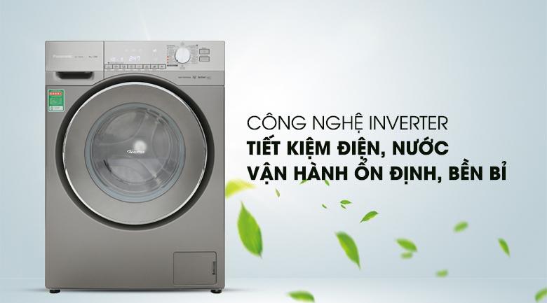 Công nghệ Inverter - Máy giặt Panasonic Inverter 9 Kg NA-129VX6LV2