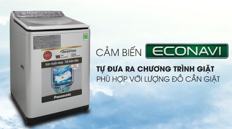 Cảm biến Econavi - Máy giặt Panasonic Inverter 9 Kg NA-129VX6LV2