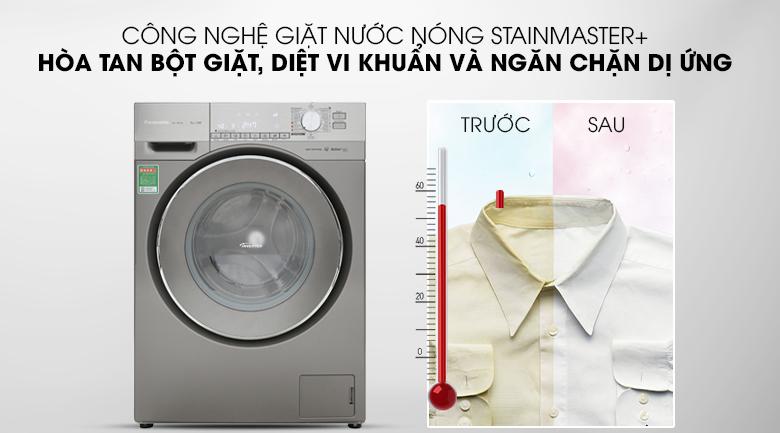 Giặt nước nóng - Máy giặt Panasonic Inverter 9 Kg NA-129VX6LV2