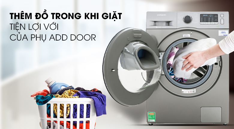 Add Door - Máy giặt Samsung Addwash Inverter 10 kg WW10K54E0UX/SV