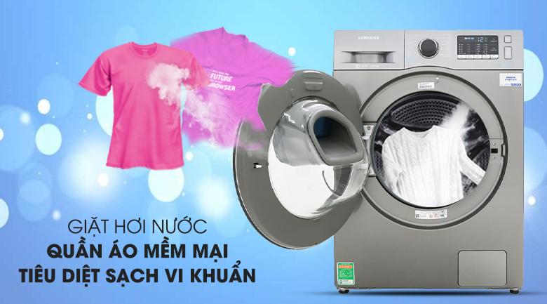 Giặt hơi nước - Máy giặt Samsung Addwash Inverter 10 kg WW10K54E0UX/SV