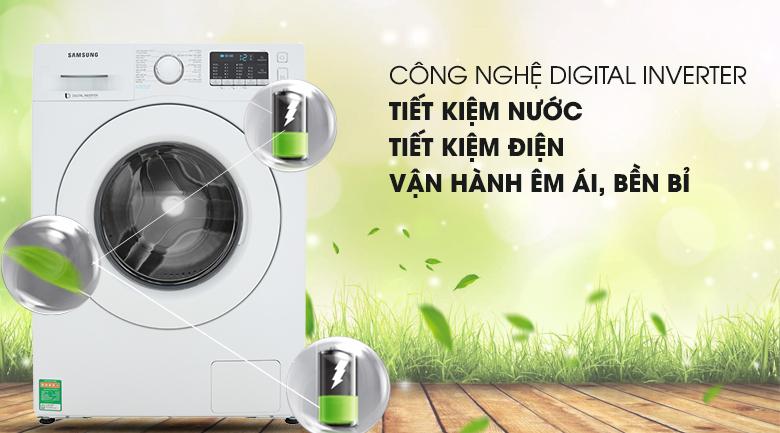 Digital Inverter - Máy giặt Samsung Inverter 8 kg WW80J52G0KW/SV