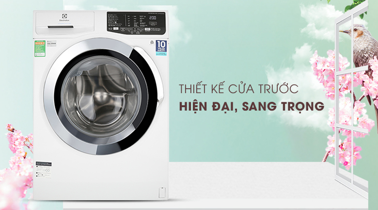 Máy giặt Electrolux Inverter 9 kg EWF9025BQWA - Thiết kế