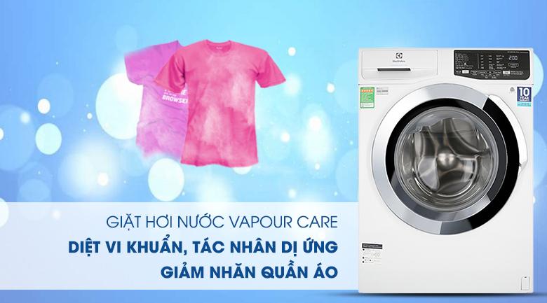 Máy giặt Electrolux Inverter 9 kg EWF9025BQWA - Giặt hơi nước