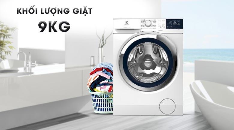 Khối lượng giặt 9 kg - Máy giặt Electrolux Inverter 9 kg EWF9024BDWA
