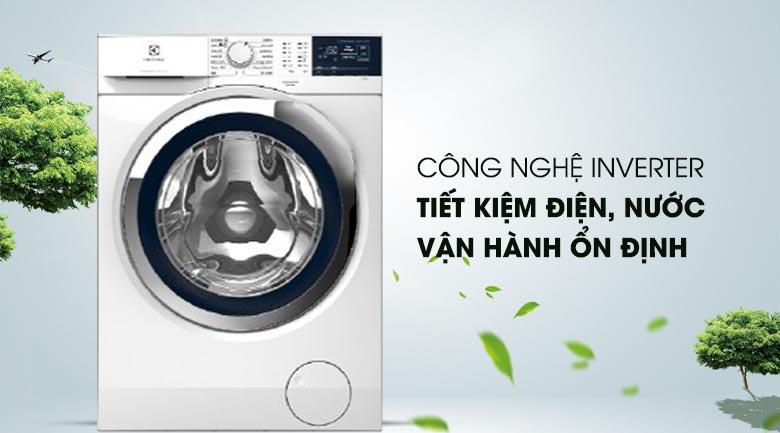 Công nghệ Inverter - Máy giặt Electrolux Inverter 9 kg EWF9024BDWA