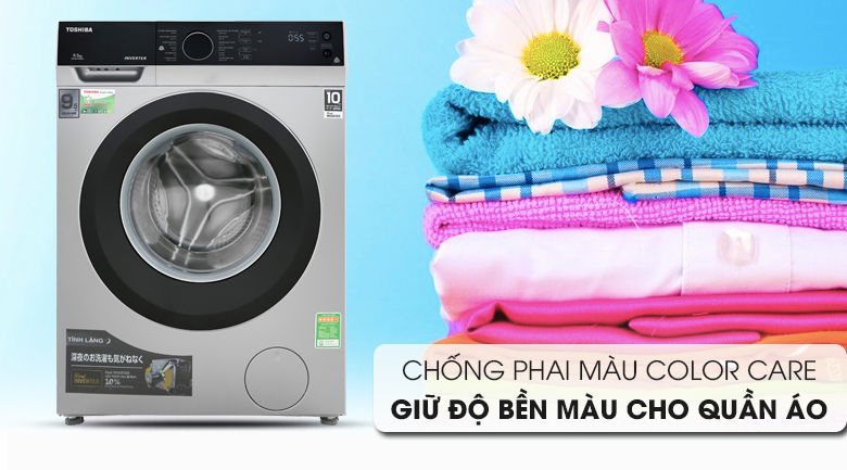 Color Care - Máy giặt Toshiba Inverter 9.5 kg TW-BH105M4V SK