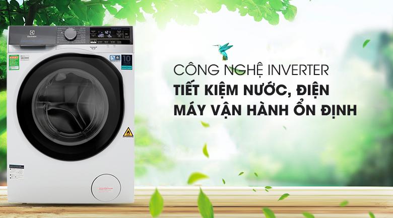 Công nghệ Inverter - Máy giặt sấy Electrolux Inverter 8 kg EWW8023AEWA