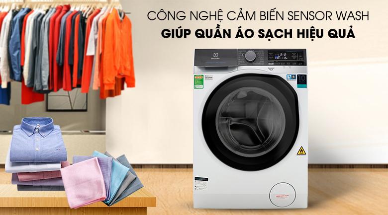 Công nghệ cảm biến Sensor - Máy giặt sấy Electrolux Inverter 11 kg EWW1141AEWA
