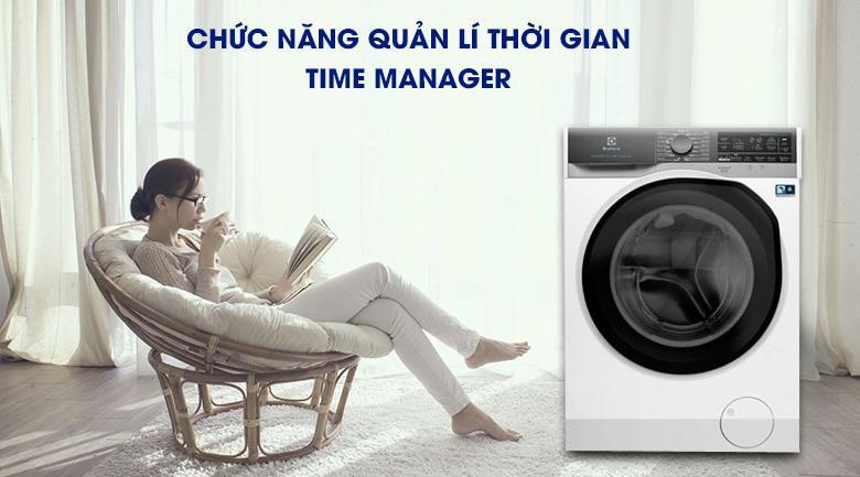 Thoải mái hơn với chế độ hẹn giờ - Máy giặt sấy Electrolux Inverter 11 kg EWW1141AEWA