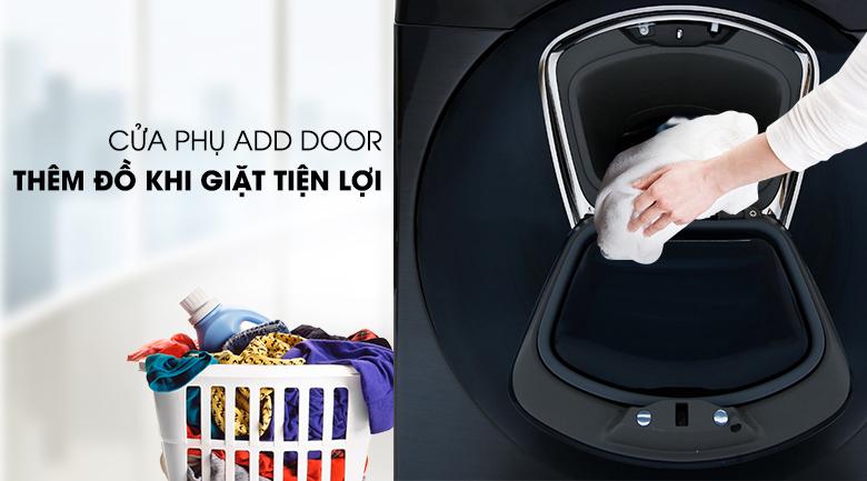 Cửa phụ Add Door - Máy giặt sấy Samsung Add Wash Inverter 19 kg WD19N8750KV/SV