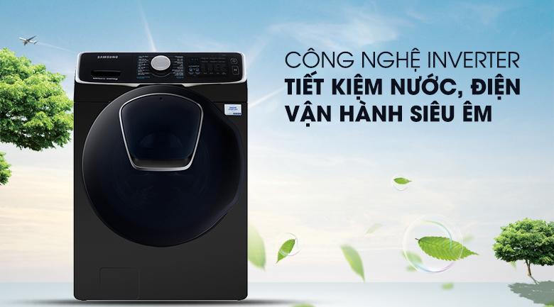 Công nghệ Inverter - Máy giặt sấy Samsung Add Wash Inverter 19 kg WD19N8750KV/SV