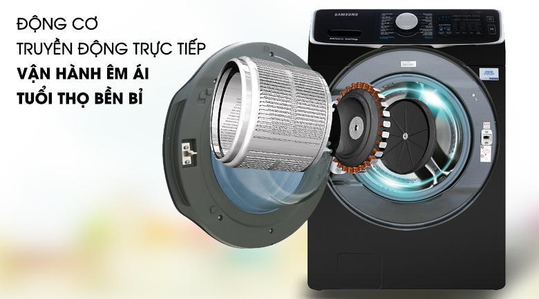 Vệ sinh lồng giặt - Máy giặt sấy Samsung Add Wash Inverter 19 kg WD19N8750KV/SV