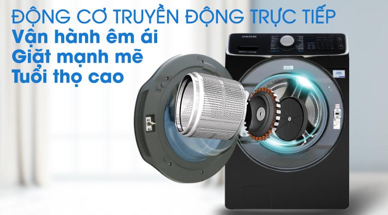 Truyền động trực tiếp -Máy giặt sấy Samsung Add Wash Inverter 19 kg WD19N8750KV/SV
