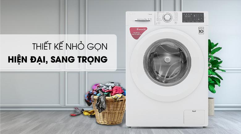 Máy giặt LG Inverter 8 kg FC1408S5W - Thiết kế