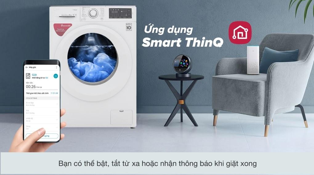 Công nghệ giặt 6 chuyển động - Máy giặt LG Inverter 8 kg FC1408S5W
