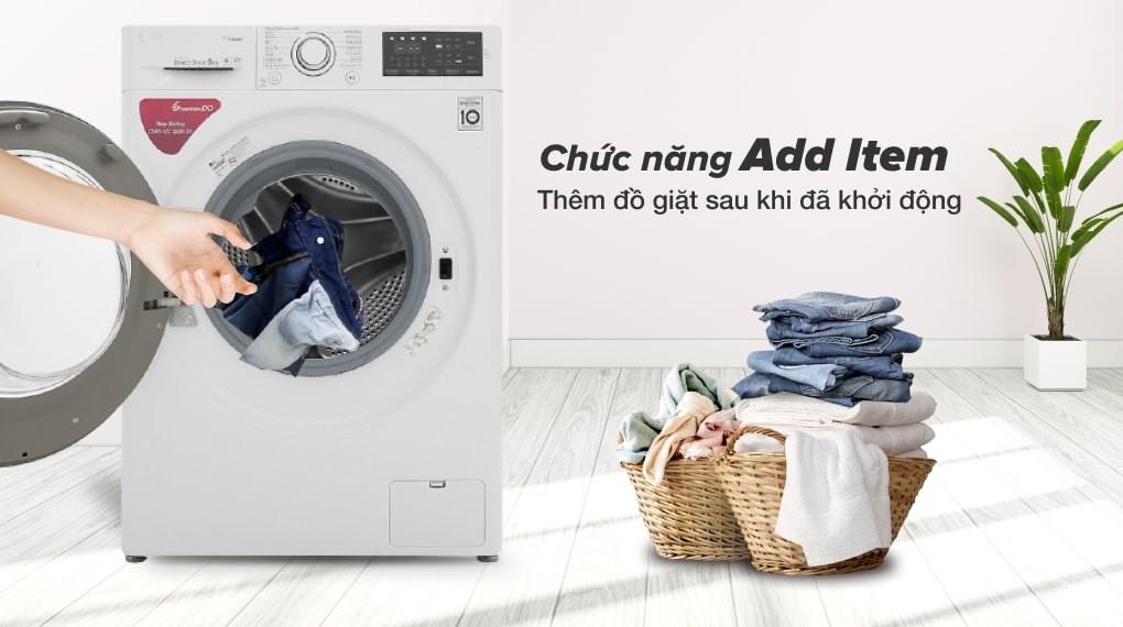 Giặt hơi nước - Máy giặt LG Inverter 8 kg FC1408S5W