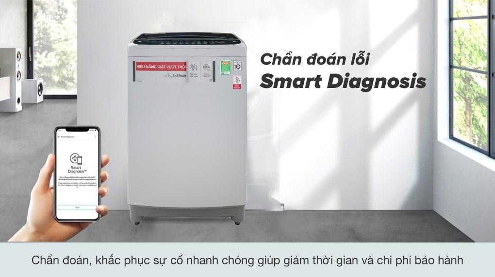 Công nghệ Smart Inverter - Máy giặt LG Inverter 10.5 kg T2350VS2M