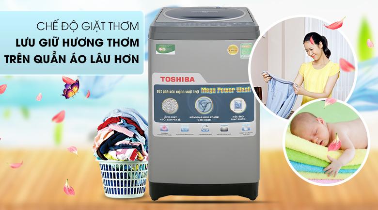 Tính năng lưu giữ hương thơm - Máy giặt Toshiba 8.2 kg AW-J920LV SB