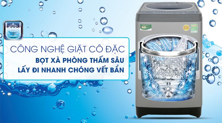 Giặt cô đặc bằng bọt khí - Máy giặt Toshiba 8.2 kg AW-J920LV SB
