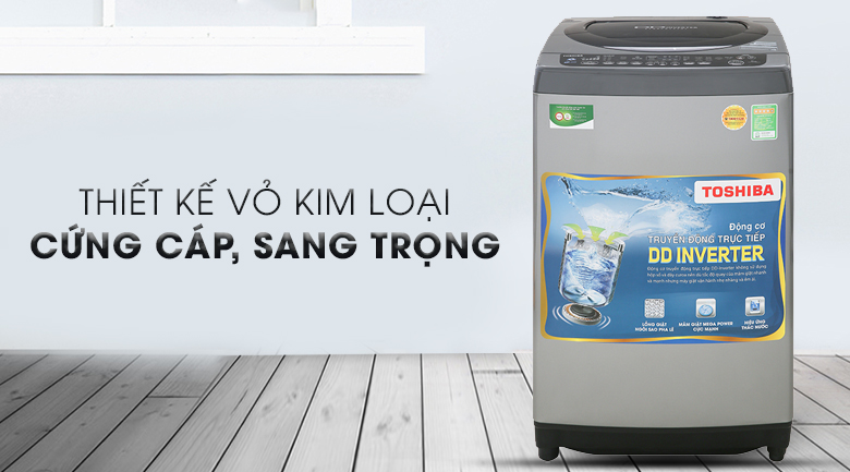Máy giặt Toshiba Inverter 9 Kg AW-DJ1000CV SK