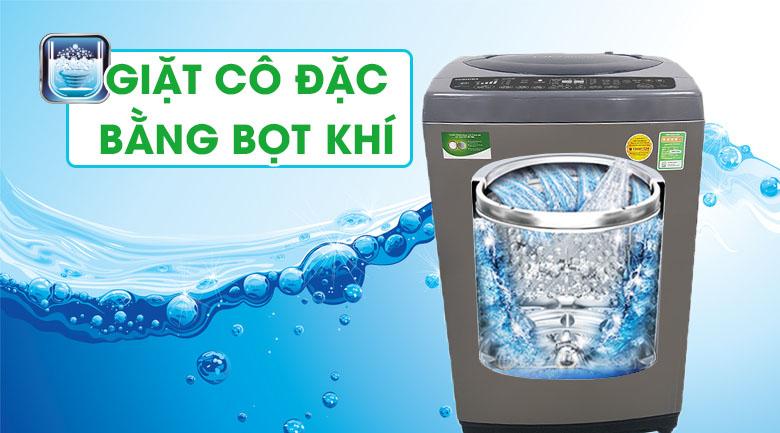 Giặt cô đặc bằng bọt khí - Máy giặt Toshiba Inverter 9 Kg AW-DJ1000CV SK