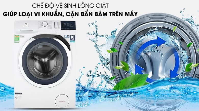 vệ sinh lồng máy giặt