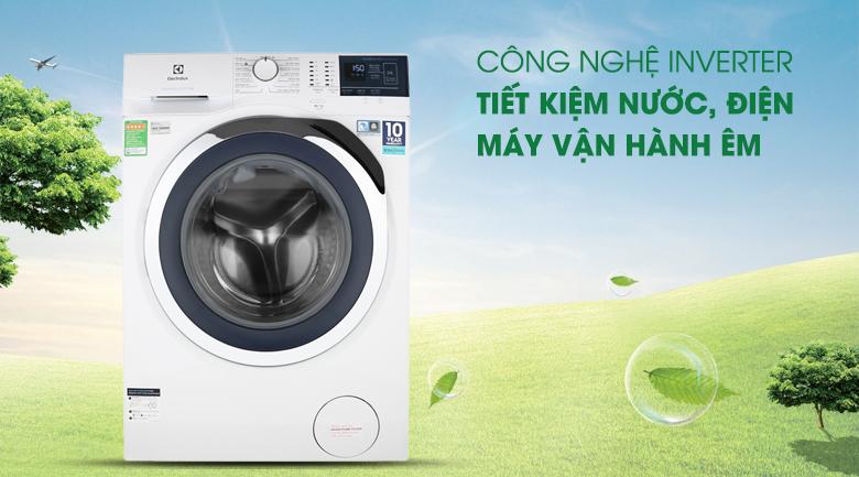 Công nghệ Inverter - Máy giặt Electrolux Inverter 8 kg EWF8024BDWA