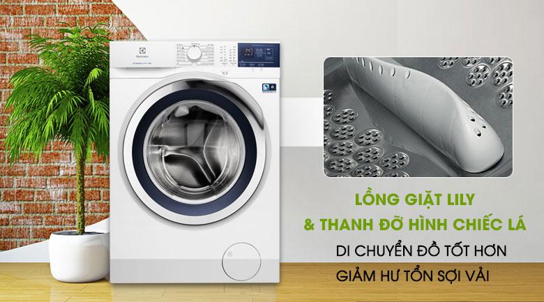 Lồng giặt Lily - Máy giặt Electrolux Inverter 8 kg EWF8024BDWA